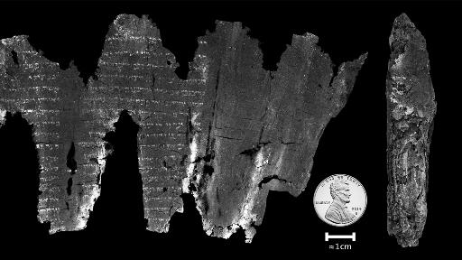 Pergaminho carbonizado de Levítico